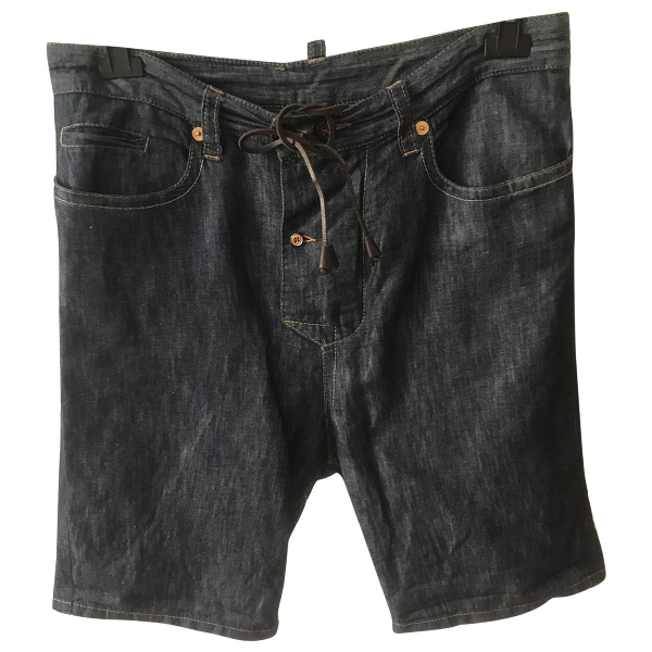 Dsquared2 Blue Denim - Jeans Shorts