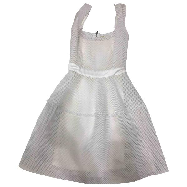 Maje White Dress
