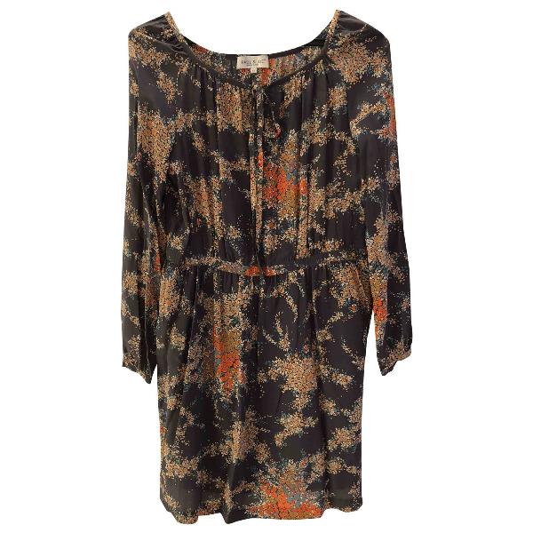 Paul & Joe Multicolour Silk Dress