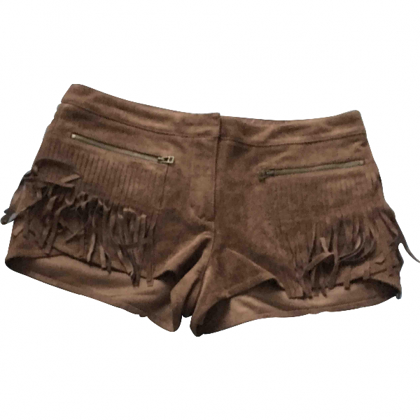 Bcbg Max Azria Camel Shorts