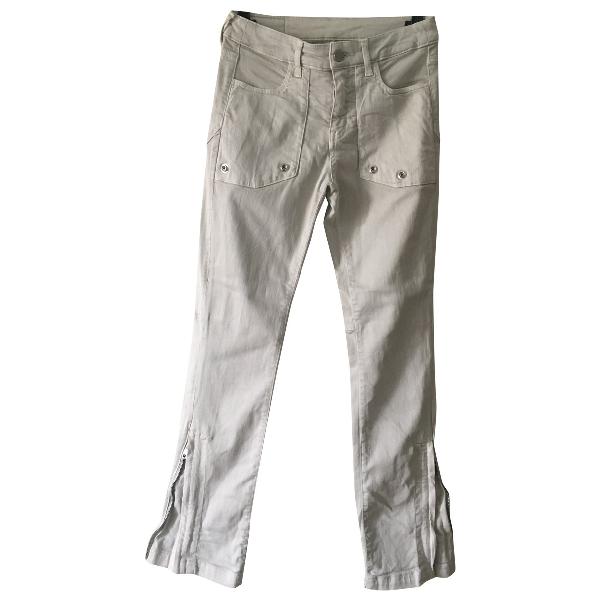 Zadig & Voltaire Beige Cotton - Elasthane Jeans