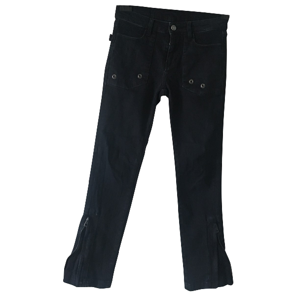 Zadig & Voltaire Blue Cotton - Elasthane Jeans