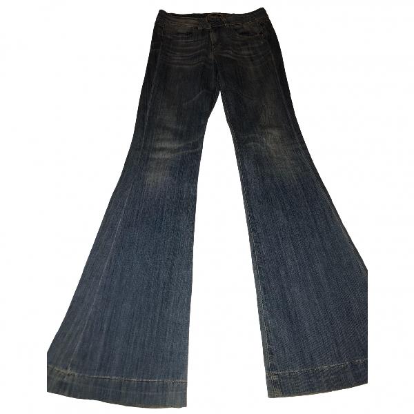 Mauro Grifoni Blue Cotton Jeans