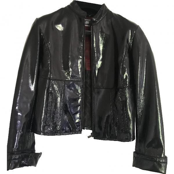 Jean Paul Gaultier Black Leather Leather Jacket