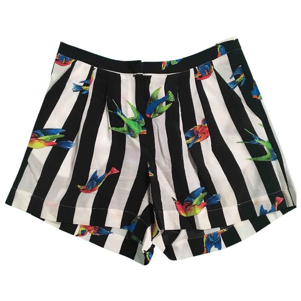 Msgm Silk Shorts