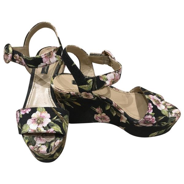 Dolce & Gabbana Cloth Sandals