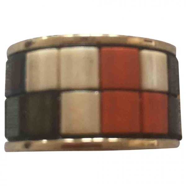 Givenchy Multicolour Metal Ring