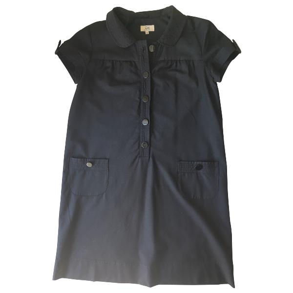 Gerard Darel Black Wool Dress