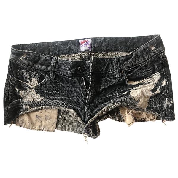 Prps Black Denim - Jeans Shorts