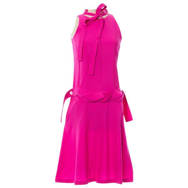 Eudon Choi Pink Wool Dress