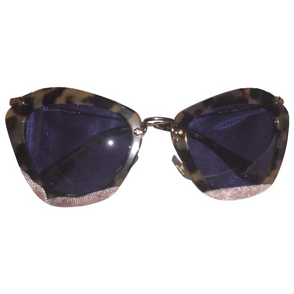 Miu Miu Brown Sunglasses