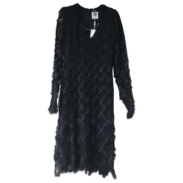 Versus Black Silk Dress