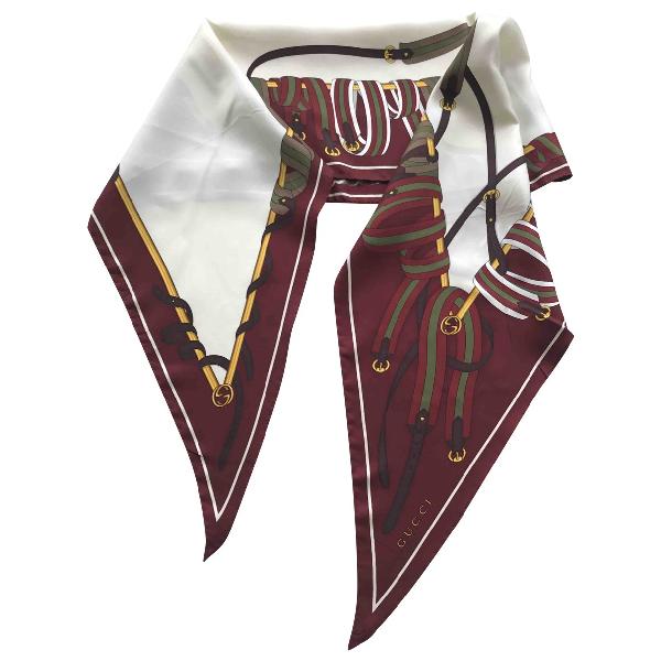 Gucci Multicolour Silk Scarf