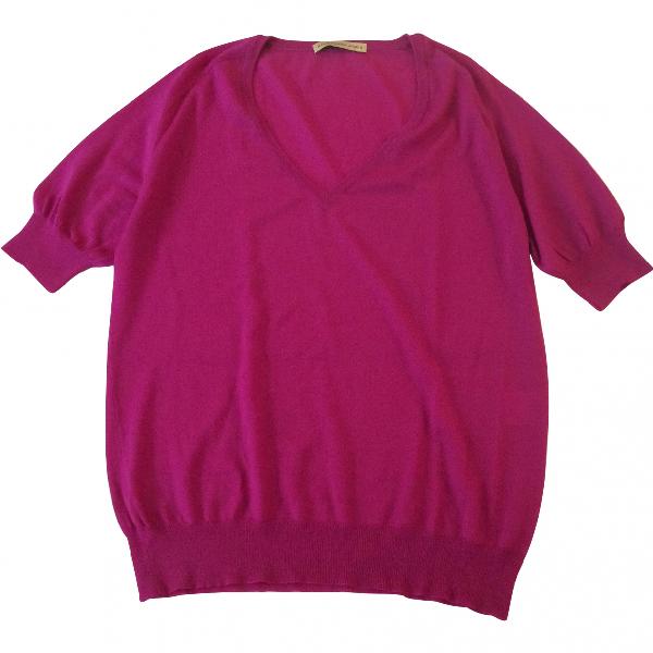 Balenciaga Pink Wool Knitwear