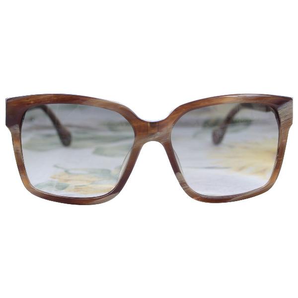 Balenciaga Brown Sunglasses