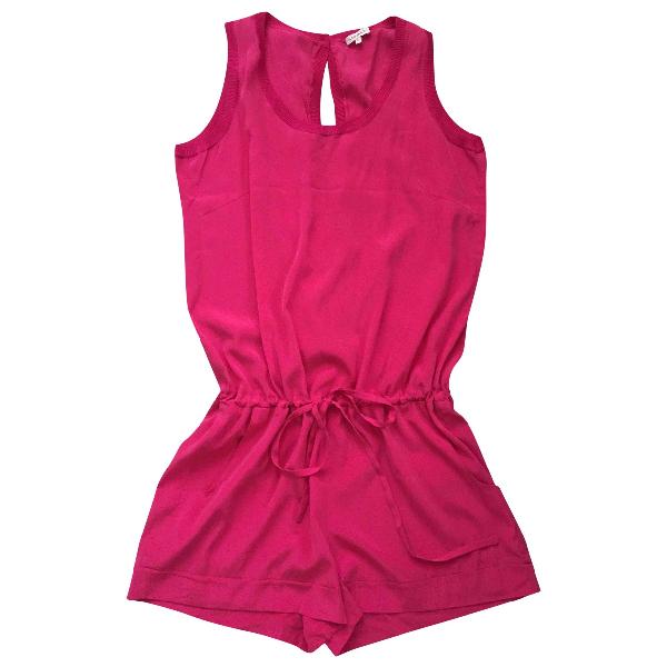 Parosh Pink Silk Jumpsuit