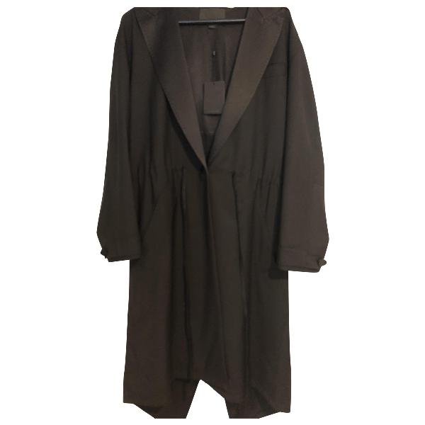 Alexander Wang Black Silk Coat