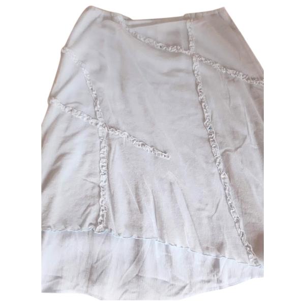 Versace Blue Skirt