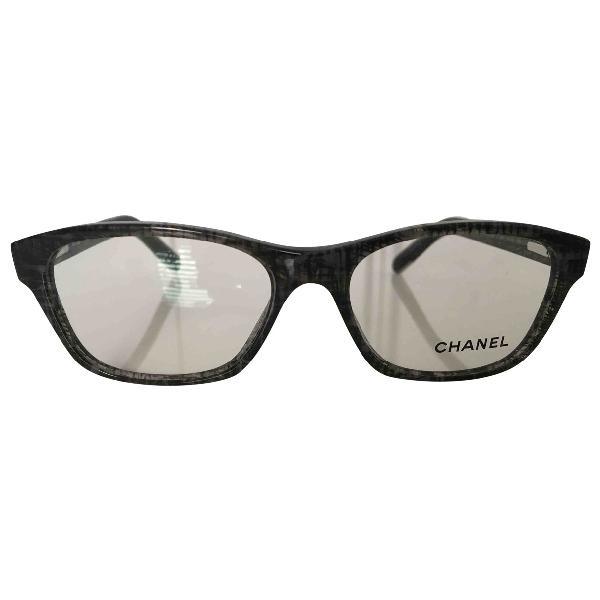 Chanel Grey Sunglasses