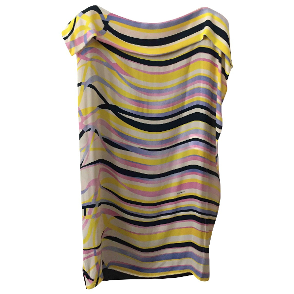 Vionnet Multicolour Silk  Top