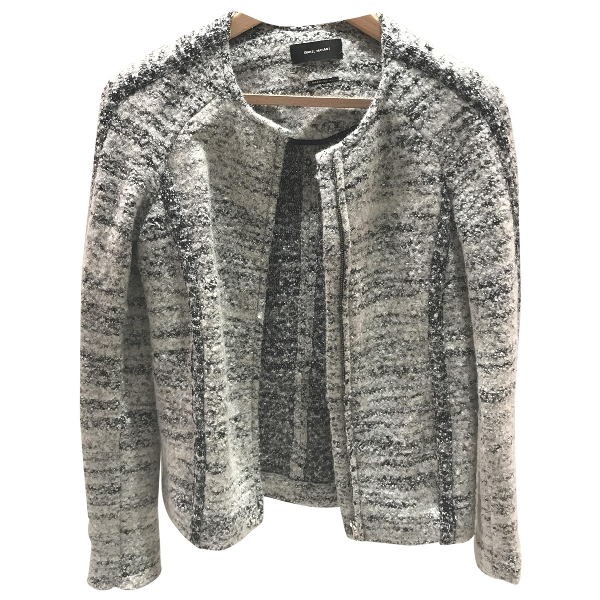 Isabel Marant Grey Wool Jacket