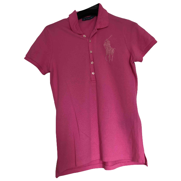 Polo Ralph Lauren Pink Cotton  Top