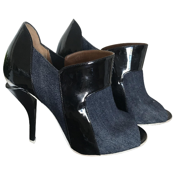 Fendi Cloth Heels