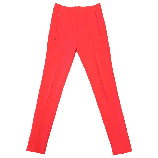 Balenciaga Red Trousers