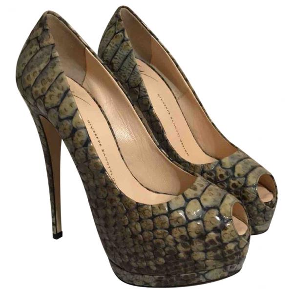 Giuseppe Zanotti Multicolour Leather Heels