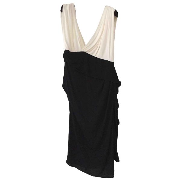 Vionnet Black Cotton Dress