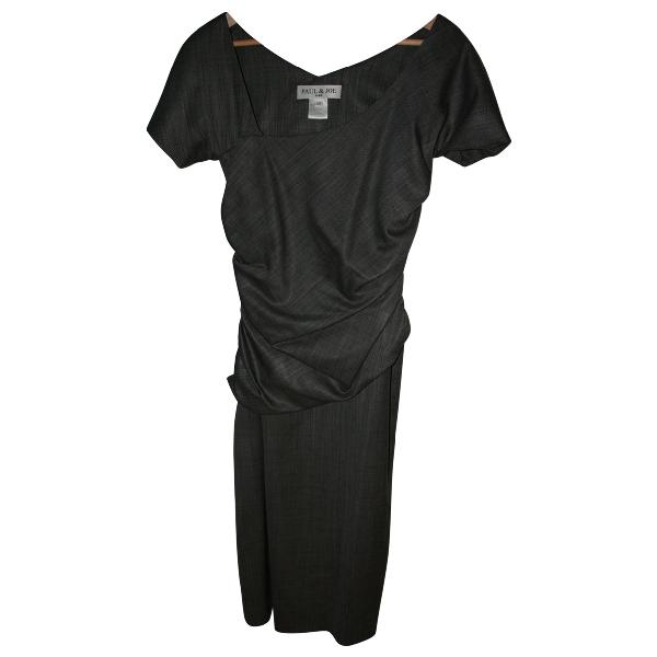 Paul & Joe Grey Wool Dress