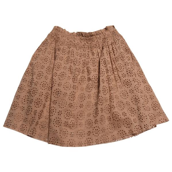 Zadig & Voltaire Beige Cotton Skirt