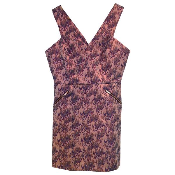 Topshop Tophop  Metallic Dress