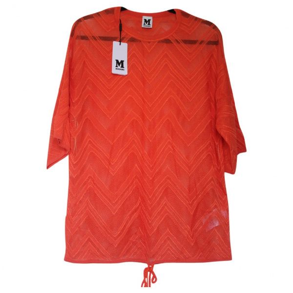 M Missoni Orange Knitwear