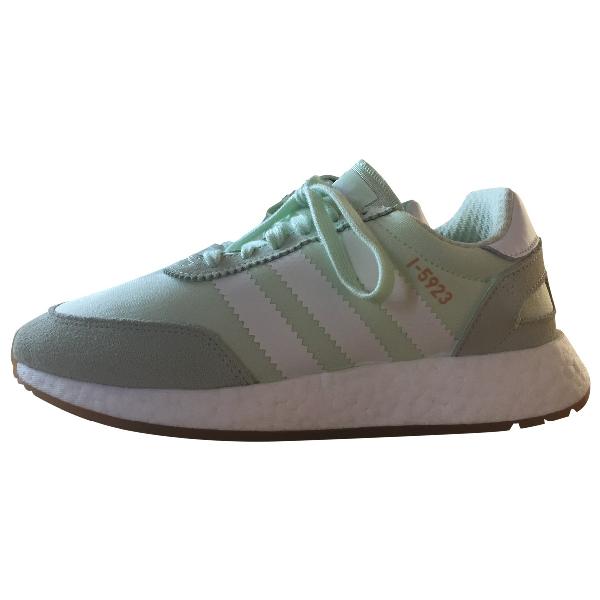 Adidas Originals Green Cloth Trainers