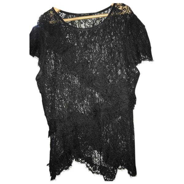 Isabel Marant Black Lace  Top