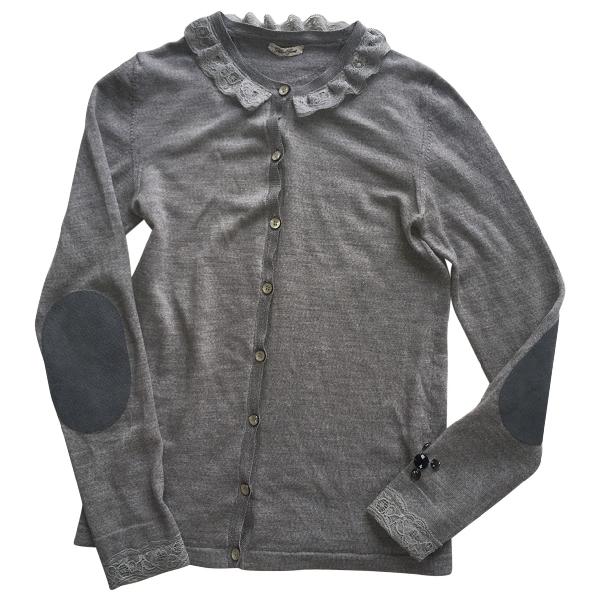 Golden Goose Grey Wool Knitwear