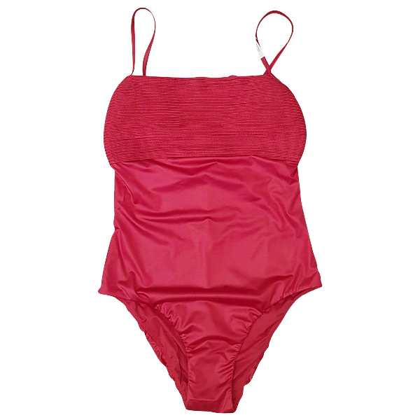 La Perla Red Lycra Swimwear