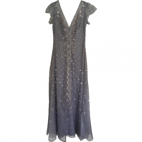 Temperley London Blue Silk Dress
