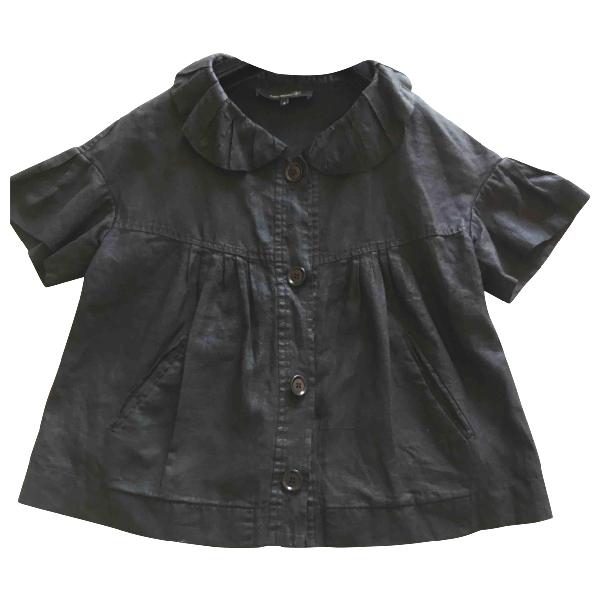 Isabel Marant Black Linen Jacket