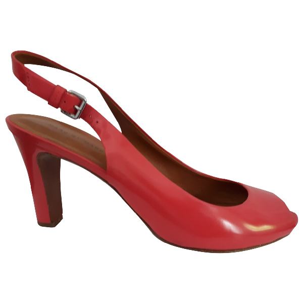 Marc By Marc Jacobs Pink Leather Heels