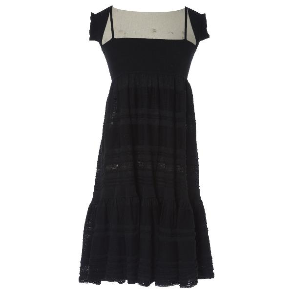 Chanel Black Cashmere Dress