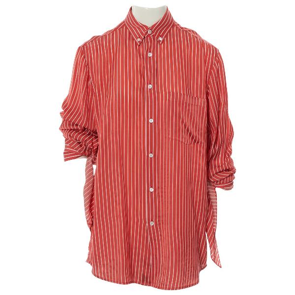 Balenciaga Red  Top