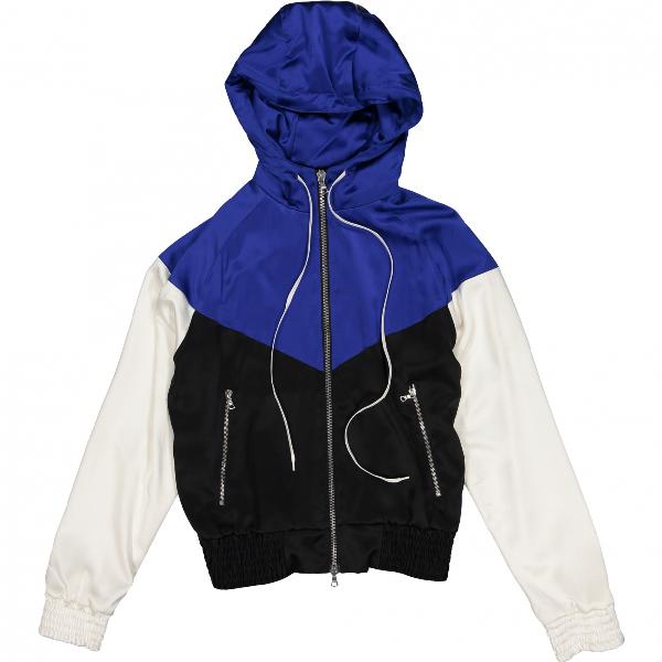 Amiri Blue Silk Jacket