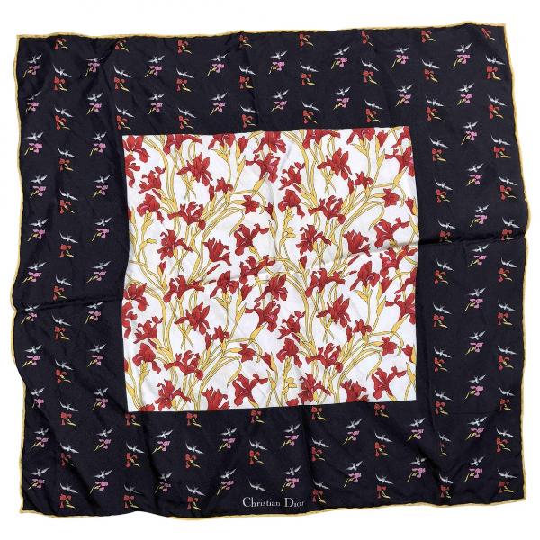 Dior Multicolour Silk Silk Handkerchief