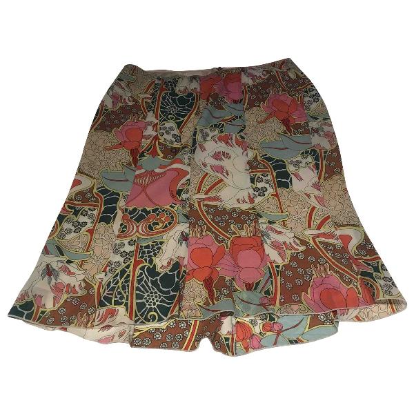Pinko Silk Skirt