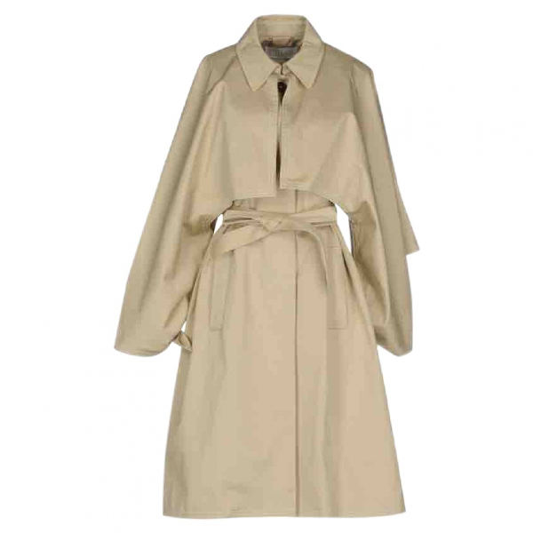 ChloÉ Beige Cotton Trench Coat