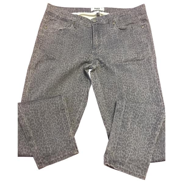 Paige Jeans Multicolour Cotton - Elasthane Jeans