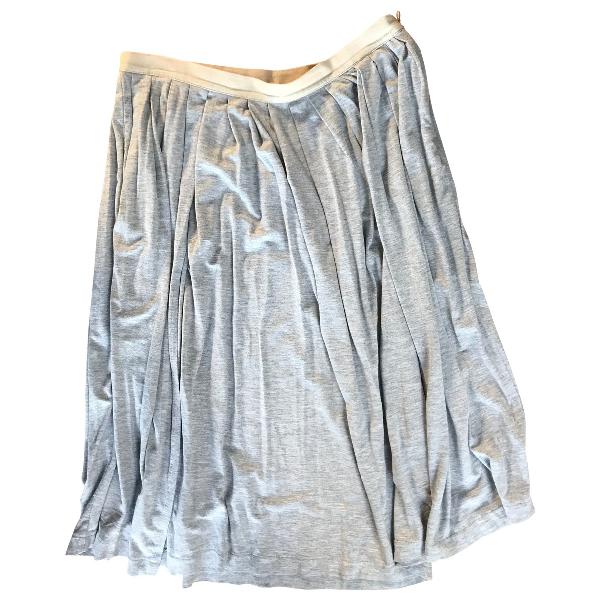 Bellerose Grey Cotton Skirt