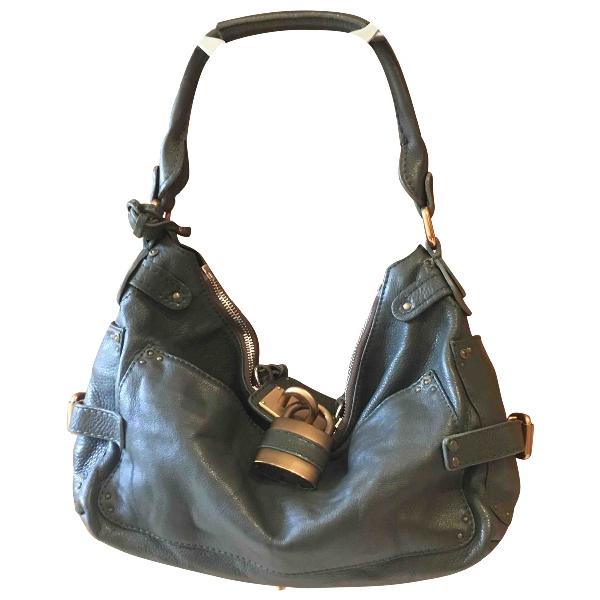 ChloÉ Paddington Khaki Leather Handbag